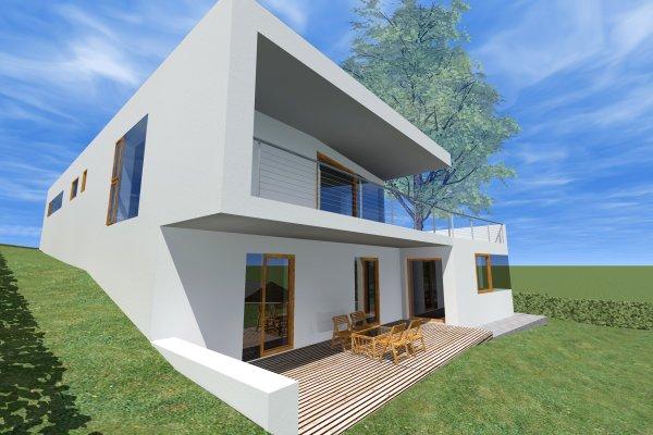 Vila Rak Rodinné Domy Architektúra Ps Arch Architektúra